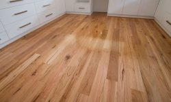 New timber floorboards